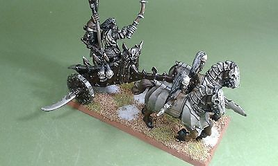 Carro del Caos Chaos Chariot warhammer pintado age of sigmar PAINTED AND BASED