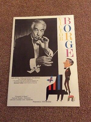 Victor Borge Programme