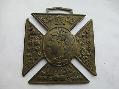 To Commemorate 60th year reign of Queen Victoria 1837-1897 Medallion Medal.