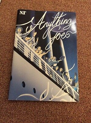 Anything Goes Programme