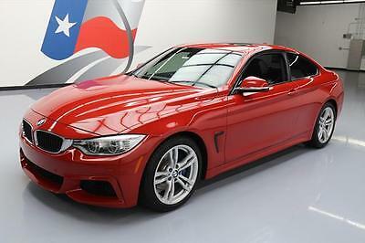 2014 BMW 4-Series Base Coupe 2-Door 2014 BMW 428I M SPORT HTD SEATS SUNROOF NAV HUD 53K MI #712398 Texas Direct Auto