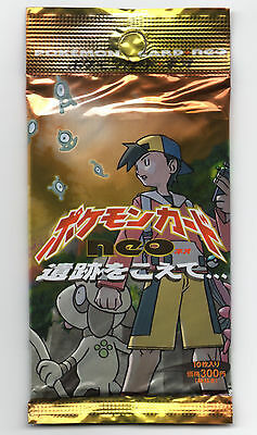Japanese Neo 2 Discovery Booster pack Pokemon Cards SEALED