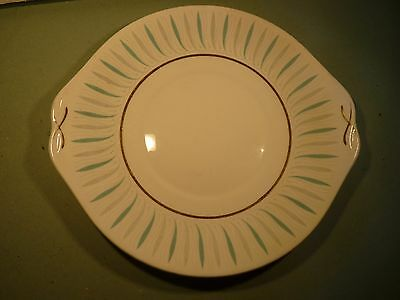 """ceramic serving oval plate  ---  """"Caprice"""" by Queen Anne China"""