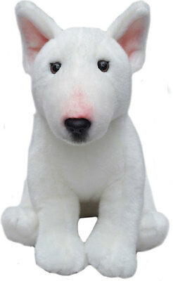 """English Bull Terrier Soft Toy 12"""" soft toy by Faithful Friends"""