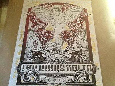 Mars Volta poster Jermaine Rogers El Paso 05 rare subscriber edition s/n of 40