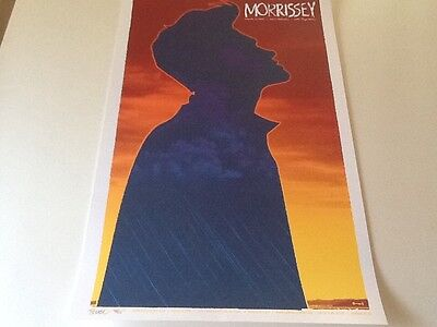 Todd Slater Morrissey poster only 200 printed The Smiths Cure Depeche Mode Clash