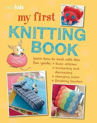 My First Knitting Book Paperback Book New
