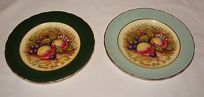 2 Aynsley Orchard Fruits Plates
