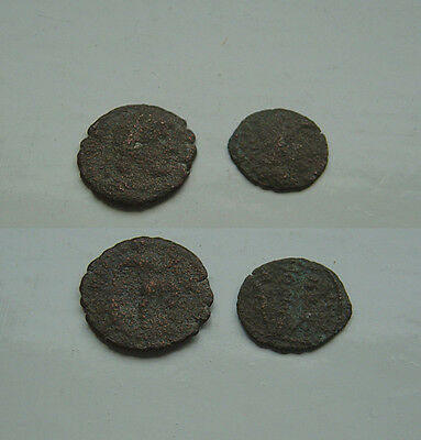 lot of Roman Ae coins