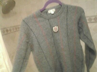 Burberrys boy sweater wool size M