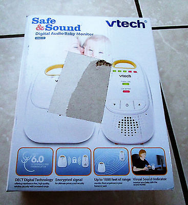 Vtech Safe & Sound Digital Baby Monitor Plus Extra New
