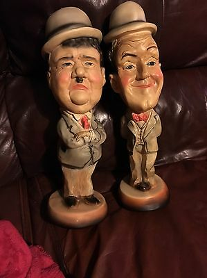 Laurel And Hardy Collectable Figures, Statues