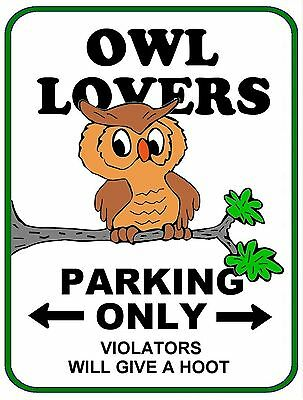 "PCSCP /""Dog Lovers Parking Only/"" 9 x 11.5 Laminated Funny Sign"