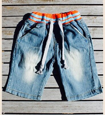 Baby Toddler Boy Denim Jeans Shorts Summer Beach 18-24 Months / 2 Years NEW