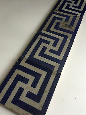 Tiles Encaustic Minton Antique X 4. Other Super Tiles Listed
