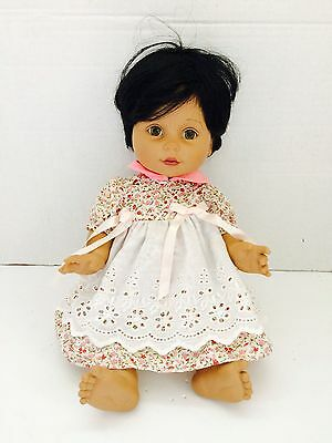 """15"""" Vintage 1995 Ethnic Light/clear Eyes Baby So Beautiful Playmates Doll"""