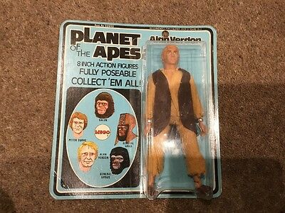 Planet Of The Apes Figure Mego Alan Verdon 8 Inch Action Figure New On Card