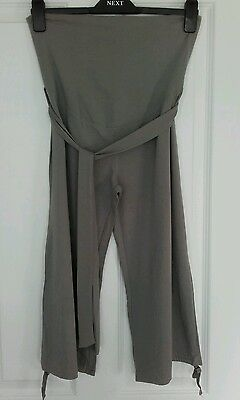 Summer maternity bundle size 12 / M - 1 vest top and 2 jersey 3/4 trousers