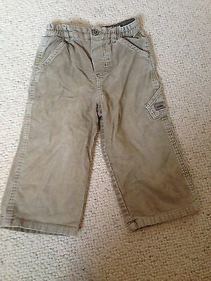 Boys Little Rocha Cord Trousers Age 12/18 Months