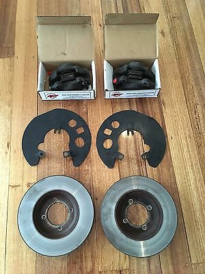 TRIUMPH TR6 Front Brake Rotors, Calipers, Pads and Hoses