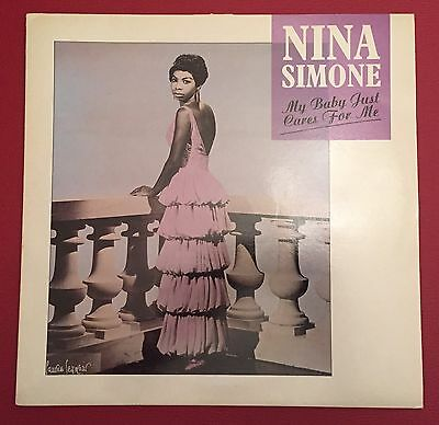 "Nina Simone 12"" Vinyl Record, My Baby Just Cares For Me"