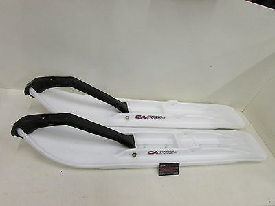 "C&a Pro Extreme Xt White Ski Black Loops 7 1/4"" Wide (Set Of 2)"
