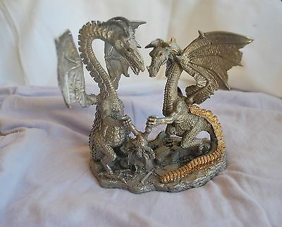 Ral Partha Pewter Dragon ~ Make A Wish ~ By BoB Olley ~ 1996