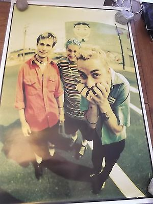 GREEN DAY 1994 DOOKIE PROMO POSTER ASBURY PARK NJ RARE!!! 24x36 EX