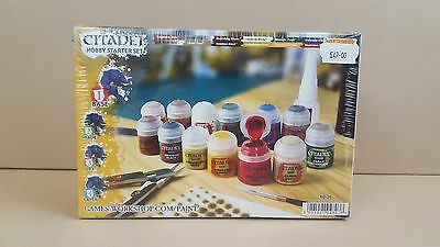 Citadel Hobby Starter Kit new and sealed inc 13 x paints.