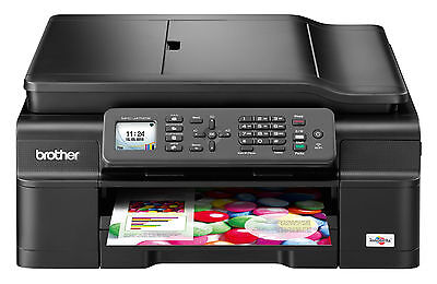 New Brother MFC-J475DW Wireless All-In-One Printer Copy Fax Scan Wifi Duplex Ink