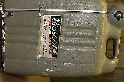 Vintage Bioscope Portable Microscope Model 60