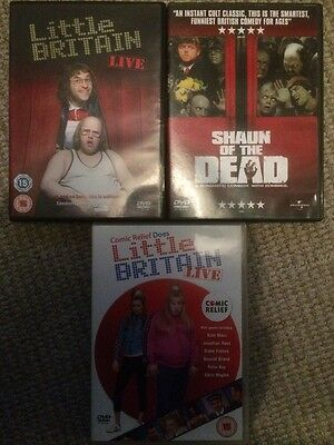 3 Comedy DVDs