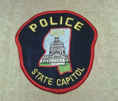 MS Mississippi State Capitol Police Patch