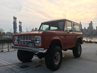 1971 Ford Bronco  Awesome 1971 Ford Bronco