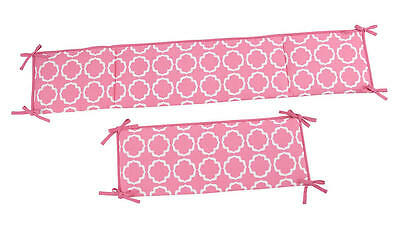Happy Chic Baby by Jonathan Adler Olivia 4-Piece Secure-Me Padded Crib Bumper