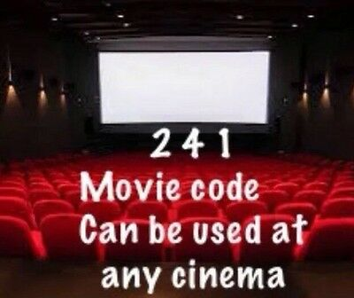 WHOLE YEAR 2 For 1 CINEMA TICKETS CODES TUESDAY AND WEDNESDAY ONLY WHOLE YEAR