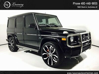 2014 Mercedes-Benz G-Class  Designo Int Blind Spot Chrome Brush 24 Savini Wheels 15 13
