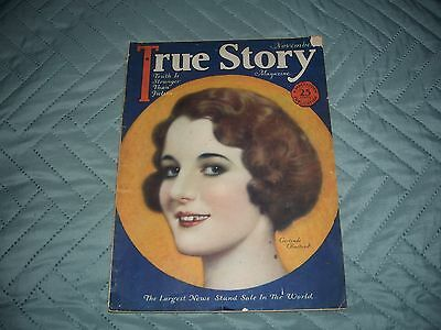 1928 True Story Magazine 180 Pages