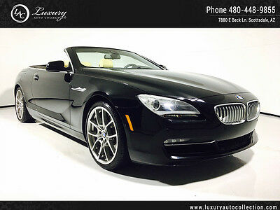 2014 BMW 6-Series  Executive Package Drivers Assist Package 15 16