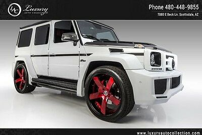 2013 Mercedes-Benz G-Class Base Sport Utility 4-Door Fab Body Kit 100K Warranty Stereo 14 15