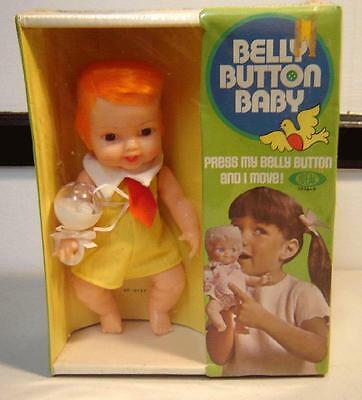 Vintage 1970 IDEAL BELLY BUTTON BABY MINT SEALED NRFB