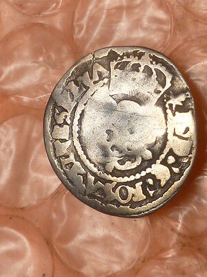 1625 to 1649   King Charles I Scotland  Silver Penny #2