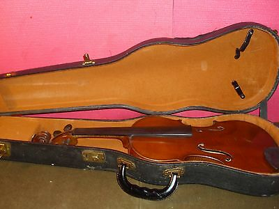 Antique French Aristo Violin With Antique Lifton Hard Shell Case