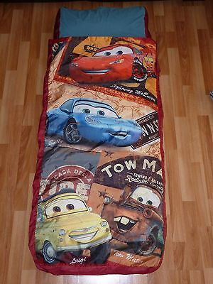 Disney Pixar Cars Inflatable Ready Bed Complete w/ Orig Box GUC