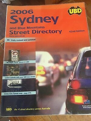 Ubd Street Directory: New South Wales -  Sydney: 2006 by Universal Publishers...