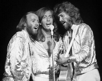 Musical Group BEE GEES Glossy 8x10 Photo Print Barry Robin Maurice Gibb Poster