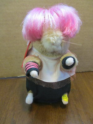 Gemmy Dancing Singing Get this Party Started Hamster Party Animal Girl Plush