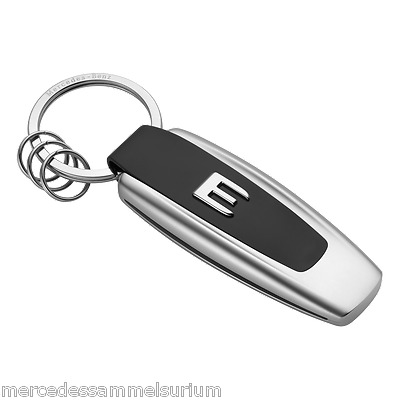 "Mercedes Benz Original Key Ring ""Typo E Class"" Stainless steel NIP"