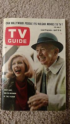 """TV GUIDE - """"The Tycoon""""; Barbara Barrie - 1965"""