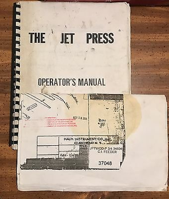 Halm JP3000 Complete Blueprint and Operation Manual